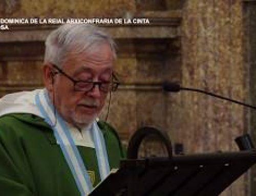 Missa Real Arxiconfraría de la Cinta. Diumenge 7 de juliol