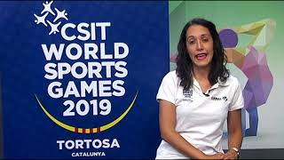 CSIT World Sports GAMES - Tortosa 2019: Dia 4