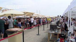 XXV Festa dels Fideus Rossejats i trobada de vela llatina a L'Ametlla de Mar
