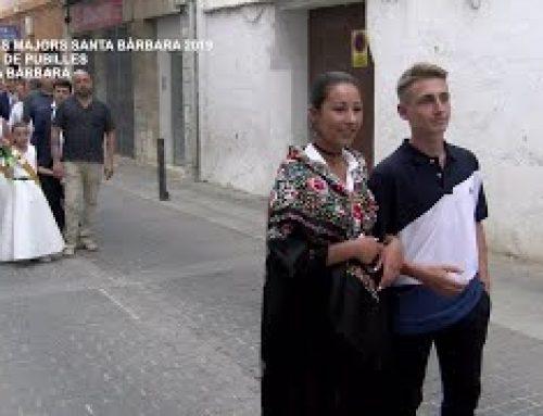 Festes Majors Santa Bàrbara: Canvi de Pubilles 2018 – 2019