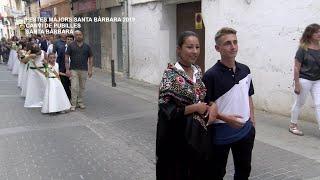 Festes Majors Santa Bàrbara: Canvi de Pubilles 2018 - 2019