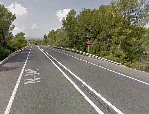 Liciten per 240.000 euros la rehabilitació del paviment de la N-340 entre el Perelló i l'Ametlla de Mar