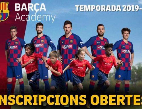 Deltebre acull la nova seu de la Barça Academy Perfeccionament a les Terres de l'Ebre