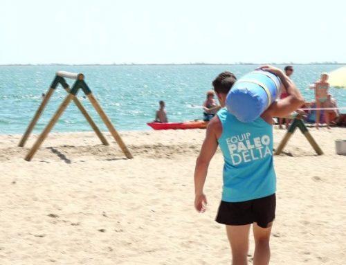 El paleotraining arriba a les platges de l'Ampolla