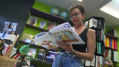 Cristina Ribes, autora del conte 'La casa nova de l'àvia'