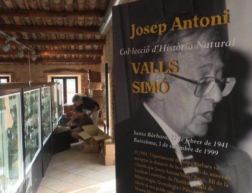 Santa Bàrbara revisa el seu fons paleontològic, cedit per Josep Antoni Valls