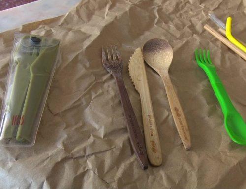 Menys plàstic d'un sol ús, més material sostenible
