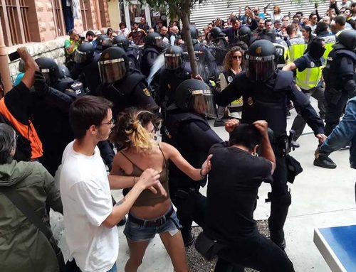 El SUP reclama davant el Defensor del Poble que el Ministeri de l'Interior condecori els agents desplaçats per l'1-O