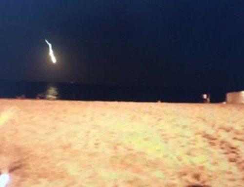 """Una """"bola de foc"""" al cel es deixa veure a l'Ametlla de Mar!"""