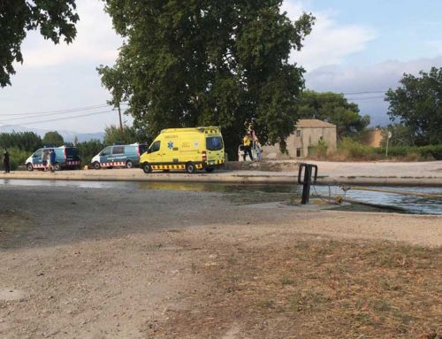 [ACTUALITZACIÓ] Un cadàver en el cotxe caigut al canal a Tortosa