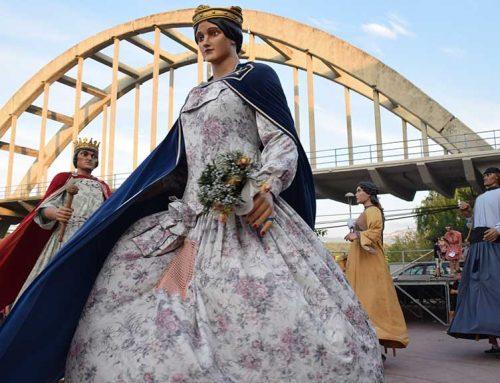 Móra d'Ebre celebra la XXXV Trobada de Gegants, Grallers i Capgrossos i la XII Mostra de Cuina Popular
