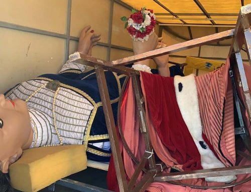 ATENCIÓ: Troben prop de València el remolc dels gegants del Vendrell