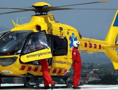 L'Hospital de Tortosa forma personal per actuar en cas d'emergència al nou heliport