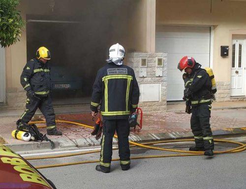 Ensurt a Vinaròs per un incendi en un garatge particular