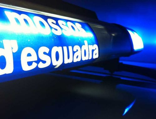 Detinguda una parella a Tortosa per conducció temerària, agredir els Mossos i xocar contra un vehicle policial