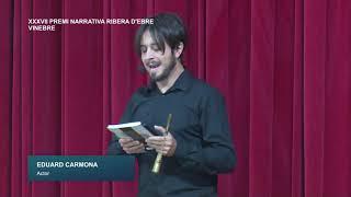 Festes Majors de Vinebre: Nit Literària XXXVII Premi Narrativa Ribera d'Ebre
