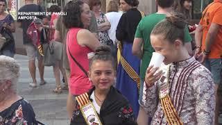 Festes Majors d'Amposta: Repartiment de panoli