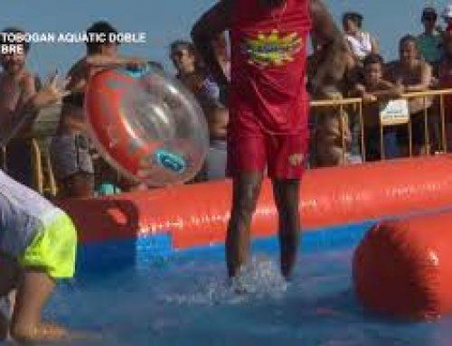 Festes Majors de Deltebre: 3r Gran Tobogan aquàtic doble