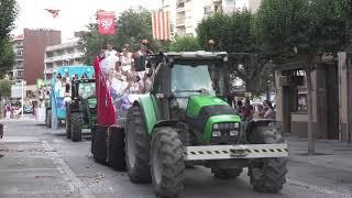 Festes Majors d'Amposta: Desfilada de carrosses
