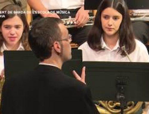 Festes Majors de La Sénia: Concert de Banda de l'Escola de Música de la Sénia