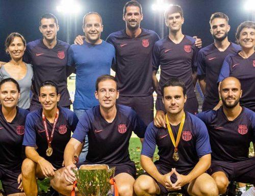 El gandesà Rafel Navarro suma la primera copa amb el FC Barcelona femení