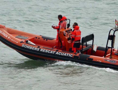 ALARMA: Diversos rescats pel mal temps a la costa de Peníscola!