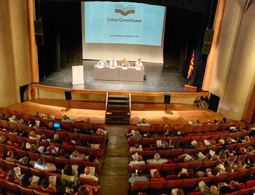 Debat Constituent ha presentat un total de 80 preguntes dels temes que es portaran als debats ciutadans participatius