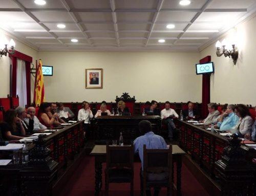 La simbologia franquista tensa de nou el ple de Tortosa