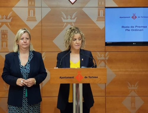 Meritxell Roigé anuncia un pla per revertir les mancances en el servei de neteja de Tortosa