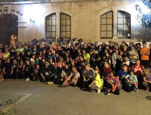 La 8a Caminada de la Lluna Plena posa el punt final a un estiu ple d'activitats a Riba-roja