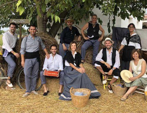 Deltebre rememora el passat amb la tradicional sega de l'arròs