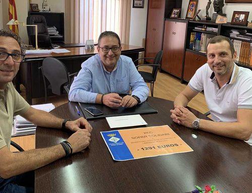 Móra d'Ebre lliura 1.291 euros al centre d'educació especial Jeroni de Moragas