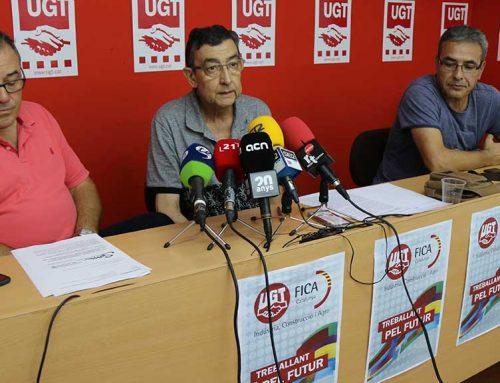 UGT denuncia la precarietat laboral dels temporers de les Terres de l'Ebre
