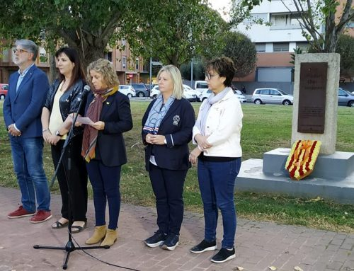 Tortosa recorda l'afusellament del president Lluís Companys