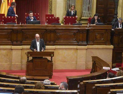 Montserrat (ERC), a favor de l'impost de les begudes ensucrades