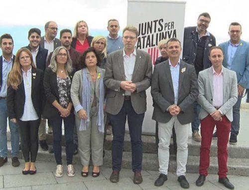 Ferran Bel es presenta com a cap de llista al Congrés per JuntsxCat