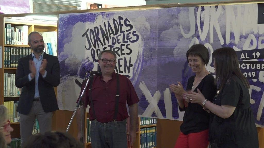 El professor canareu Tomás Camacho, Premi del Mèrit de les Lletres Ebrenques 2019