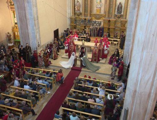 Gandesa recrea el casament reial de Jaume i Leonor que va tenir lloc ara fa 700 anys