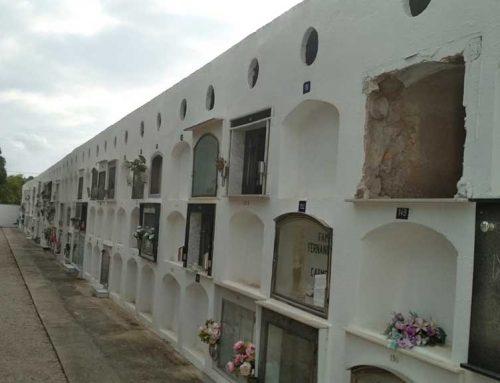 Movem Jesús demana la rehabilitació dels nínxols de la part antiga del cementiri