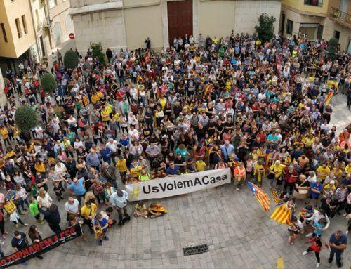 La ciutadania d'Amposta clama per la llibertat dels presos polítics