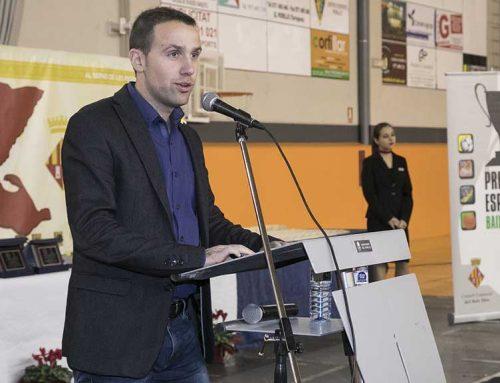 Enric Adell pensa que cal seguir potenciant el paper dels Consells Esportius a Catalunya