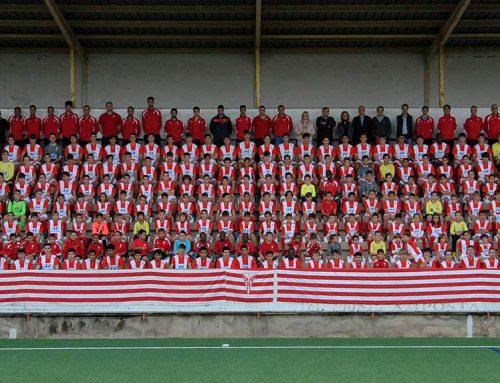 El CD Tortosa presenta els més de 250 jugadors del seu futbol base