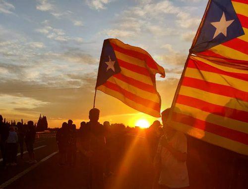 L'AP-7 i la N-340 tallades a l'Ampolla i la C-12 a Tortosa per manifestacions independentistes