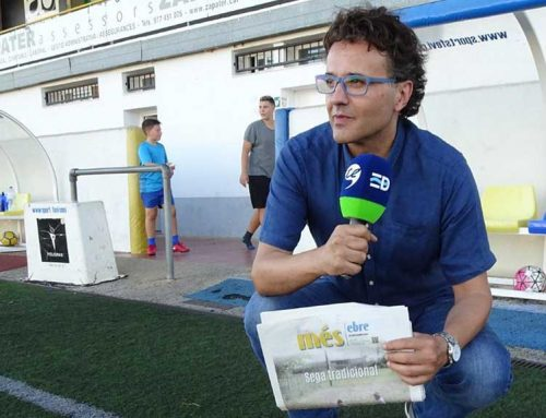 """Michel Viñas, el """"Maldini"""" del futbol ebrenc"""