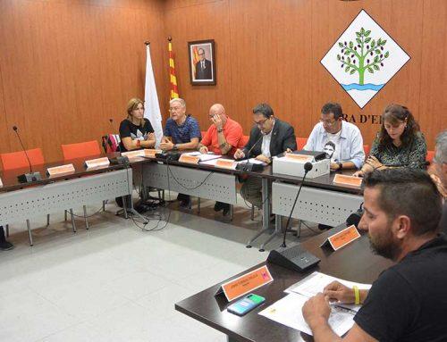 L'Ajuntament de Móra d'Ebre reclama la llibertat dels presos polítics