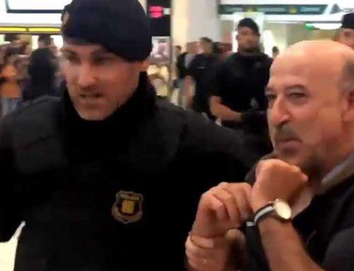 L'ebrenc Germà Bel, desallotjat pels Mossos del Pícnic per la República