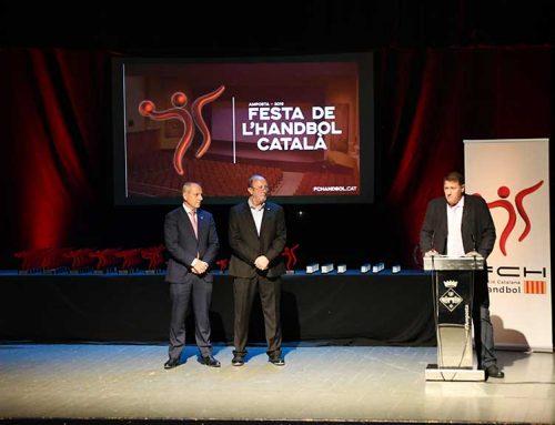 Amposta va viure una exitosa Festa de l'Handbol Català