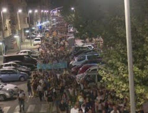 Manifestacions contra la sentència: Amposta i Tortosa (Dilluns 14 d'octubre)