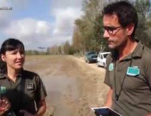 Els Agents Rurals canvien els prismàtics pels drons