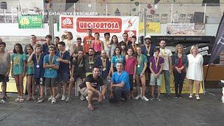 Campionat Catalunya Escalada en dificultat i 1r Campionat Catalunya Paraescalada